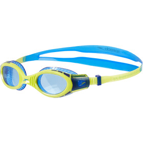 speedo Futura Biofuse Flexiseal Lunettes de protection Enfant, new surf/lime punch/bondi blue